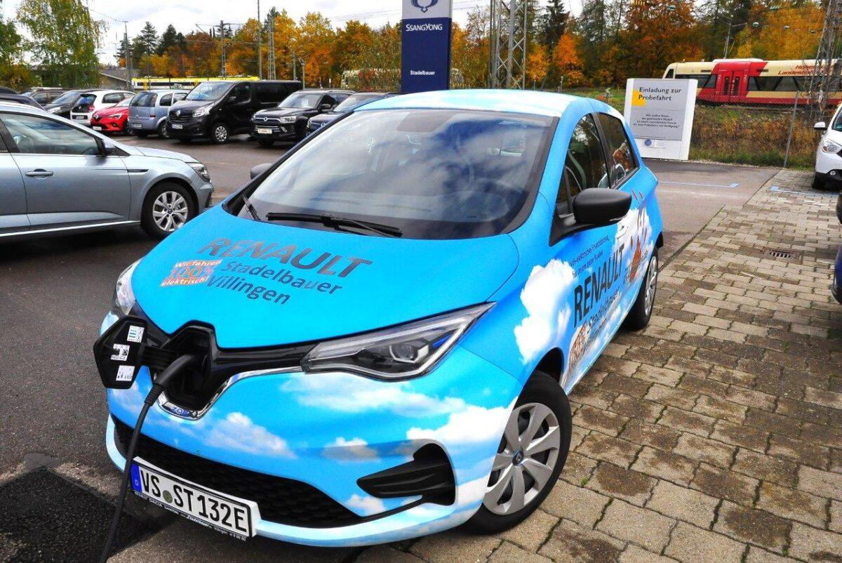 E-Mobilität im Autohaus Stadelbauer